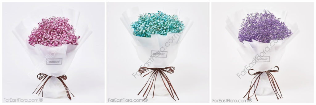 Affordable Florist with Baby Breath's Bouquet Singapore - Far East Flora