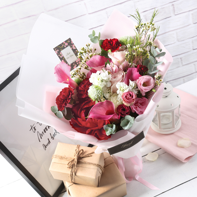 Hazel Florist Singapore Review | The Bud Box Singapore | FREE Same Day Flower Delivery