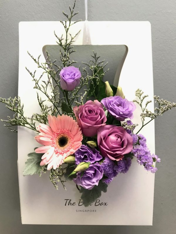 Pink Gerbera and Rose Bloom Box