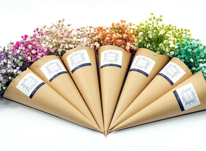 Affordable Florist with Baby Breath's Bouquet Singapore - Petite Fleurs