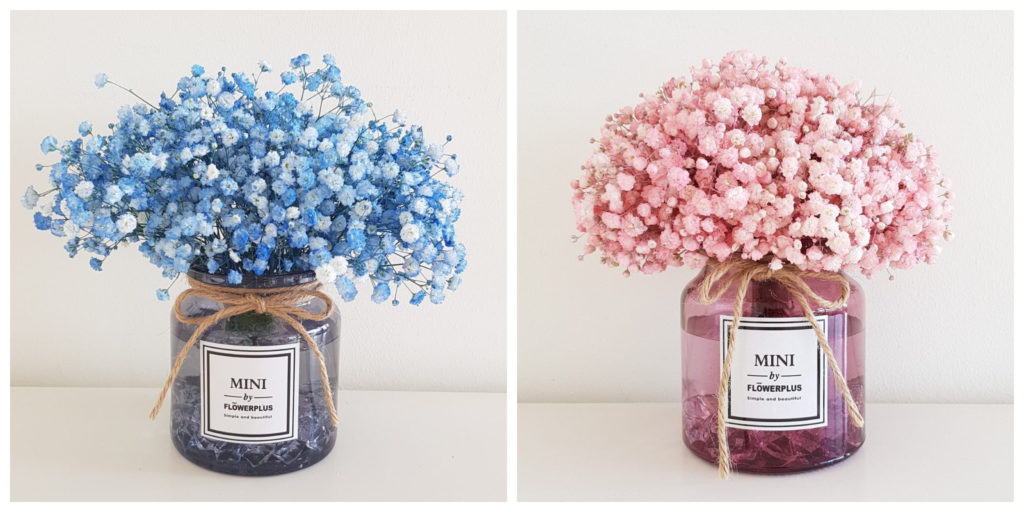 Affordable Florist with Baby Breath's Bouquet Singapore - Smiling Flora