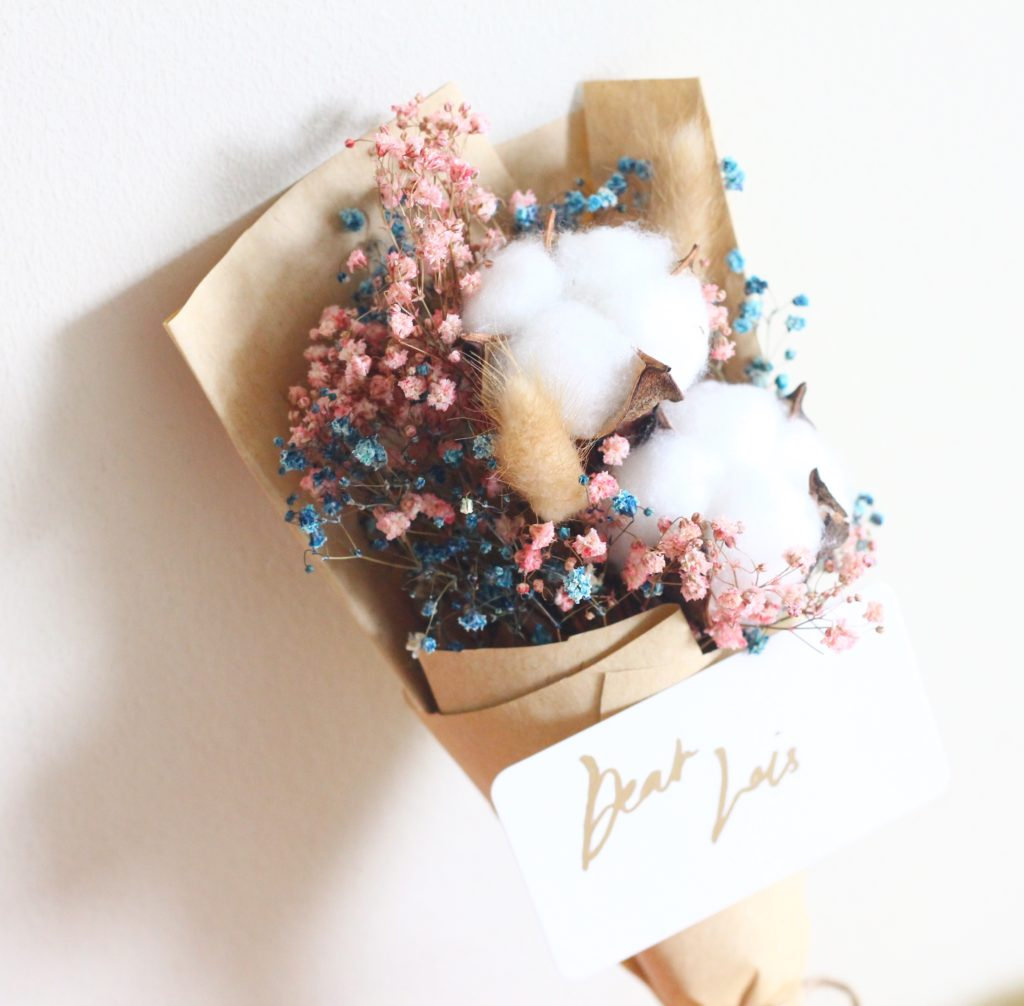 Affordable Florist with Baby Breath's Bouquet Singapore - Bloom Inc