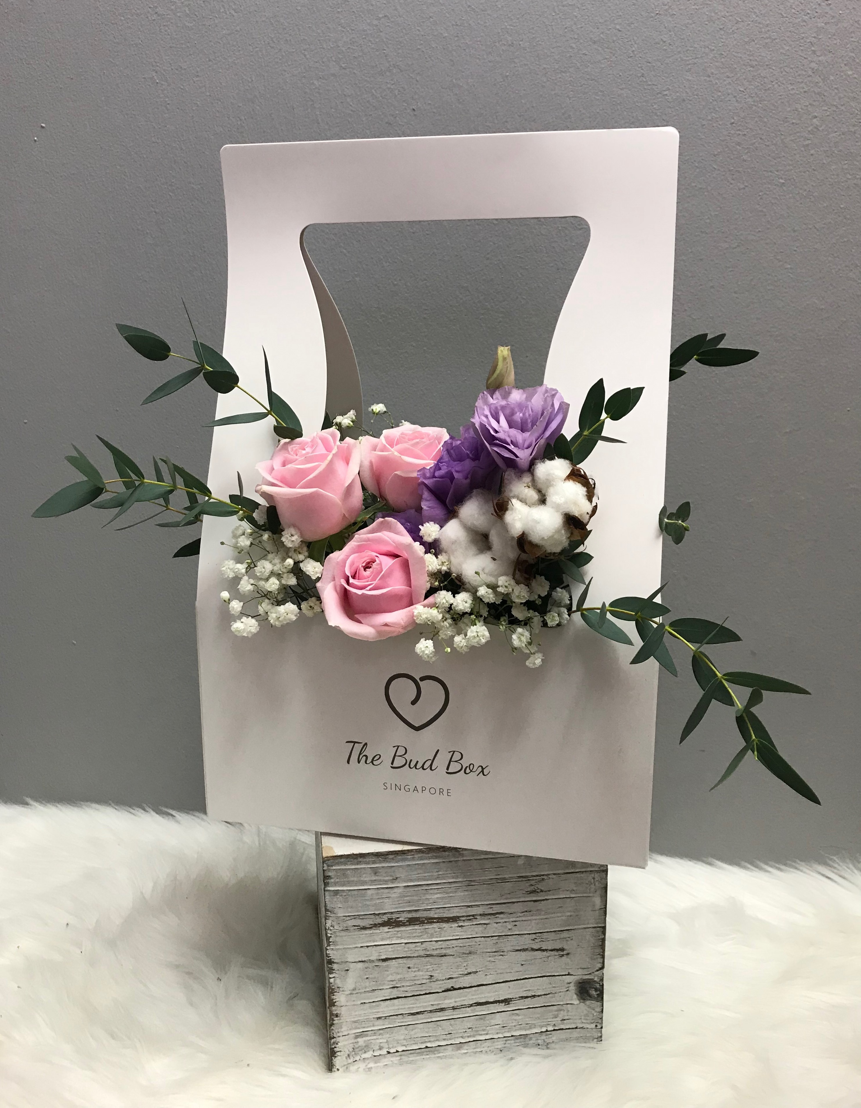 Bud Box for 17 July - Flower in a Box Singapore | Free Same Day Delivery $30