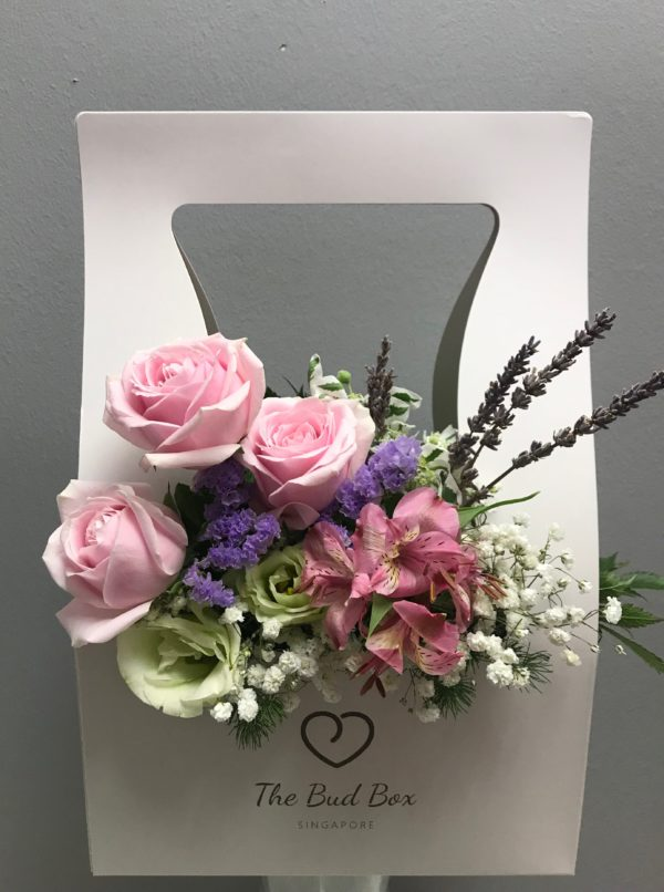 Bud Box for 23 July - Flower in a Box Singapore | Free Same Day Delivery $30