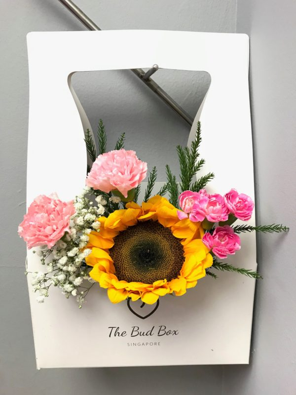 Bud Box for 16 July - Flower in a Box Singapore | Free Same Day Delivery $30