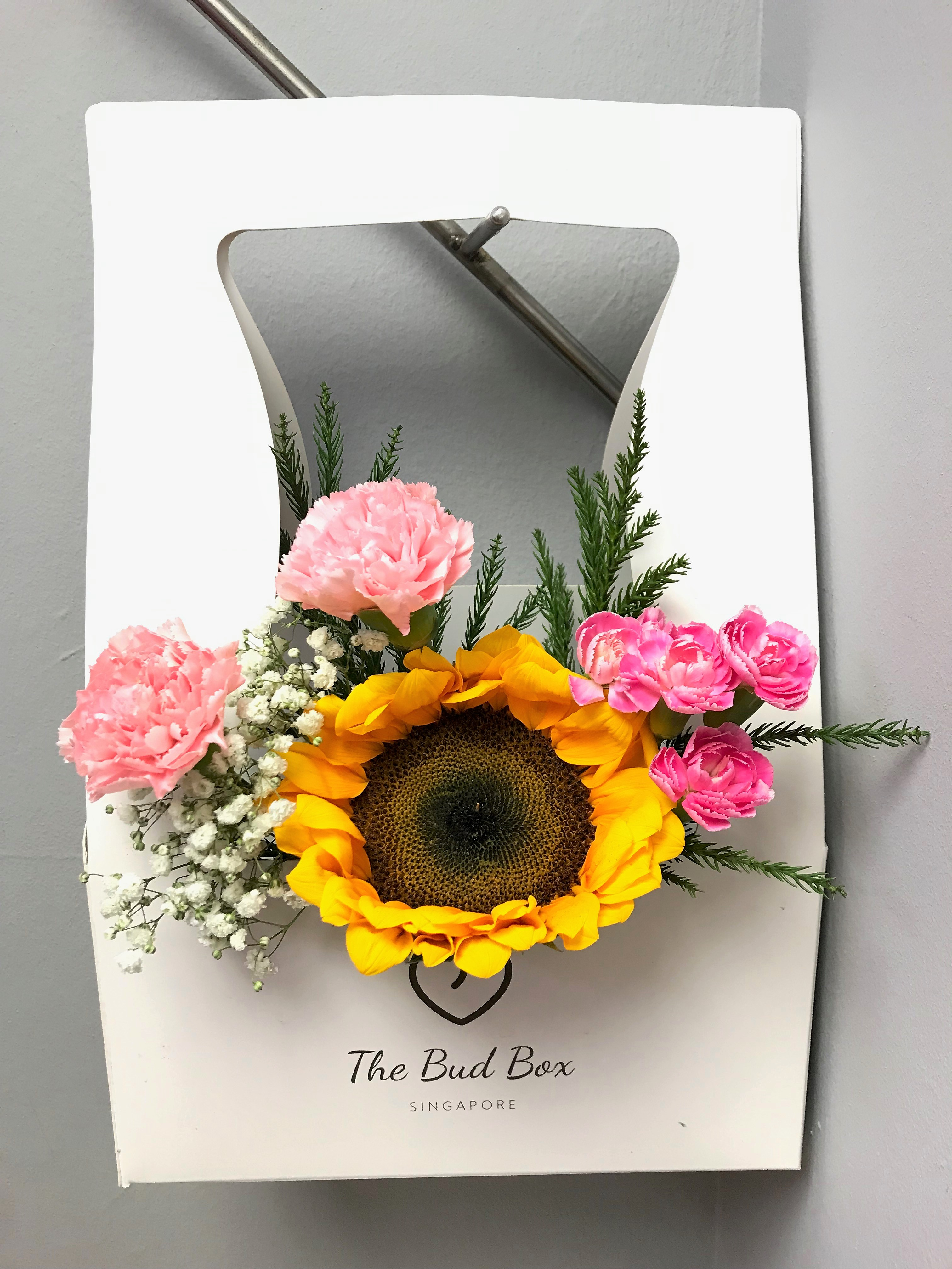 Bud Box for 16 July - Flower in a Box Singapore   Free Same Day Delivery $30