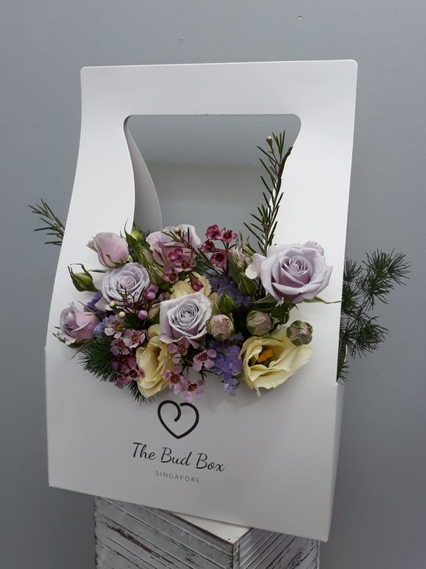 Bud Box for 18-19 July - Flower in a Box Singapore | Free Same Day Delivery $30