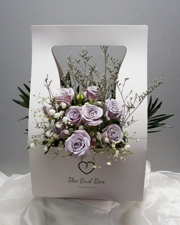 Bud Box for 24 July - Flower in a Box Singapore | Free Same Day Delivery $30
