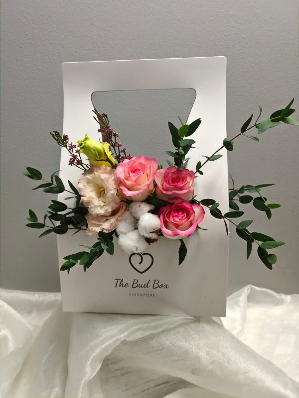 Bud Box for 26 July - Flower in a Box Singapore | Free Same Day Delivery $30