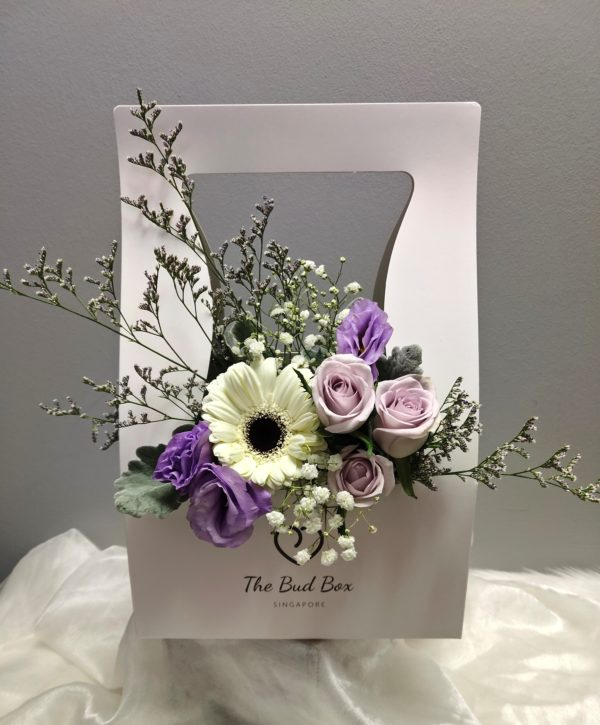 Bud Box for 31 July - Flower in a Box Singapore | Free Same Day Delivery $30