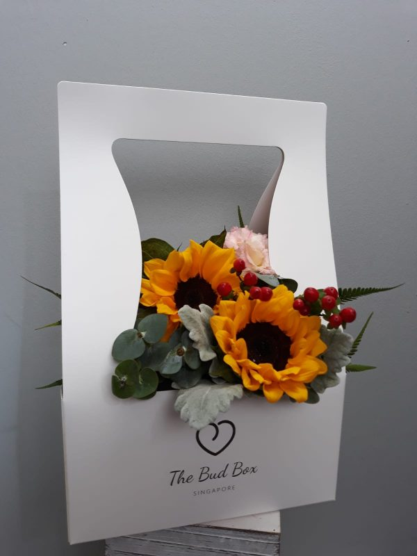 Bud Box for 28 July - Flower in a Box Singapore   Free Same Day Delivery $30