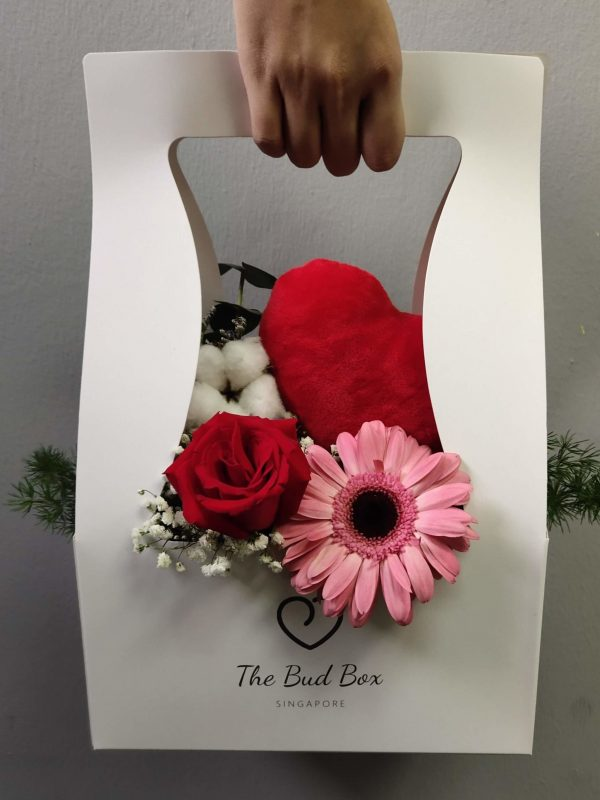Bud Box for 27 July - Flower in a Box Singapore | Free Same Day Delivery $30