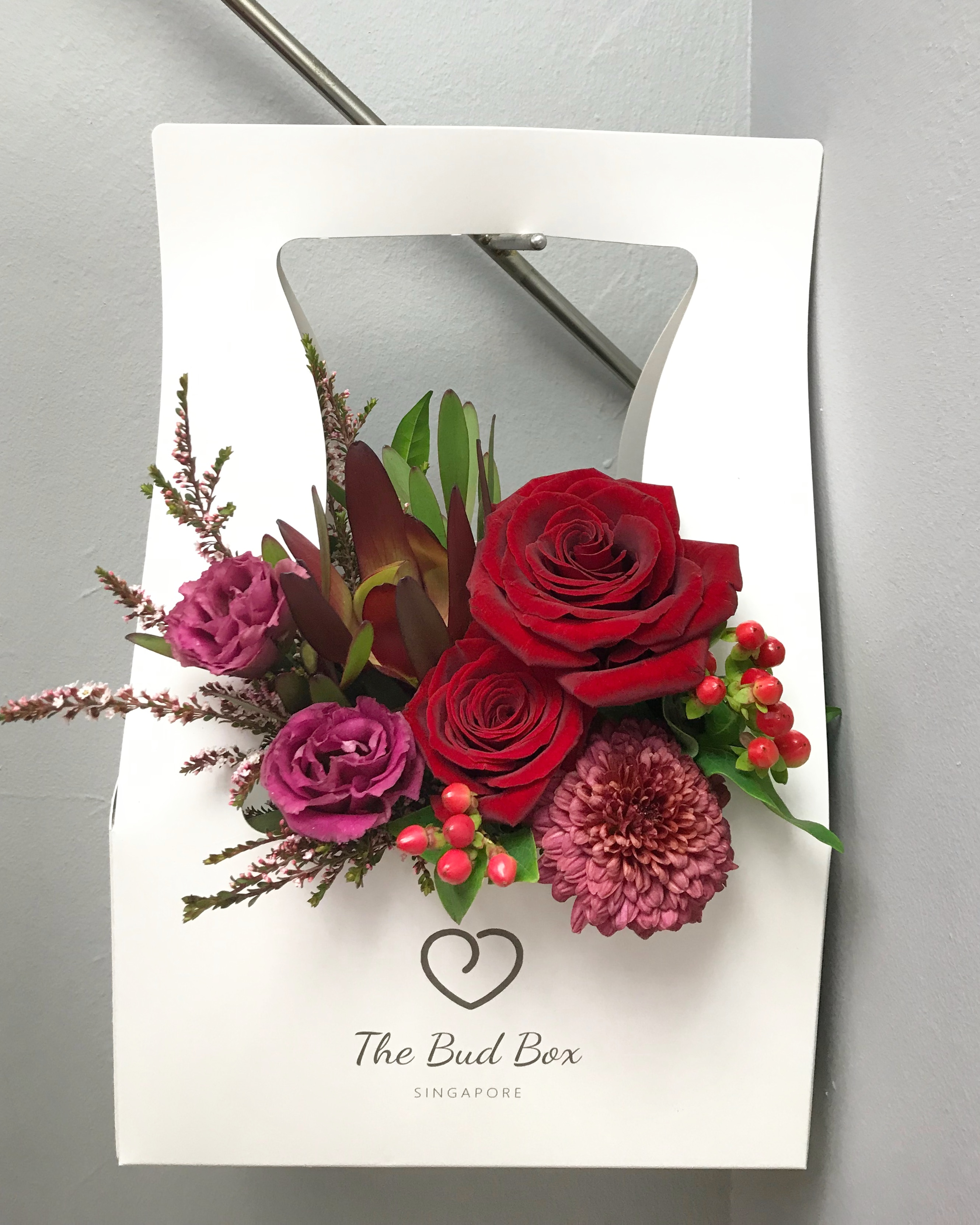 Bud Box for 15 July - Flower in a Box Singapore | Free Same Day Delivery $30