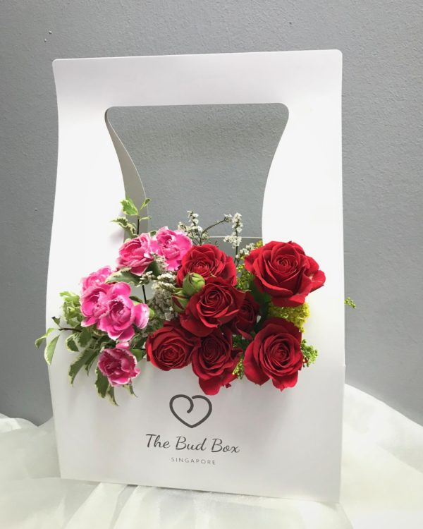 Bud Box for 20 21 July - Flower in a Box Singapore | Free Same Day Delivery $30