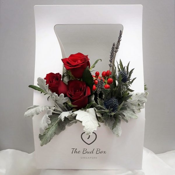 Bud Box for 30 July - Flower in a Box Singapore | Free Same Day Delivery $30