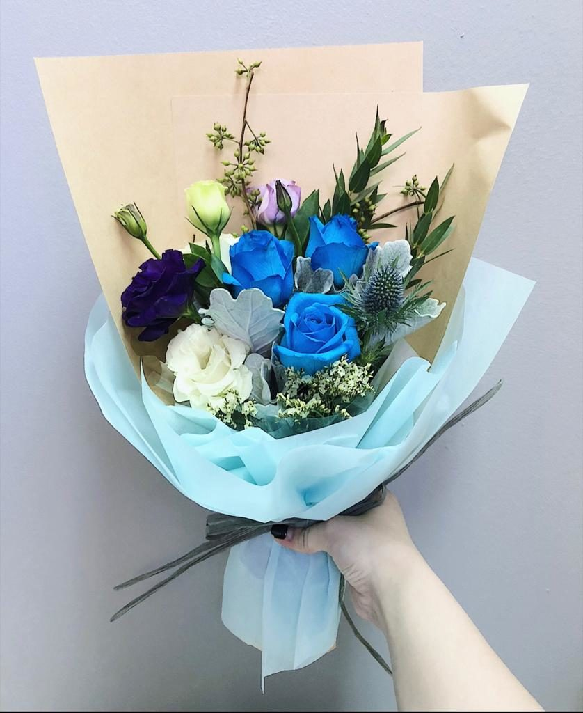 Graduation Bouquets for him - Floral Garage Singapore