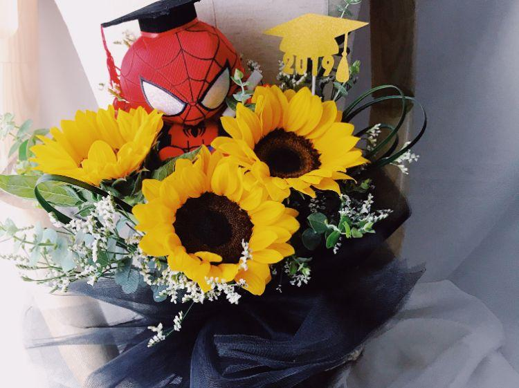 Graduation Bouquets for him - Toki Singapore