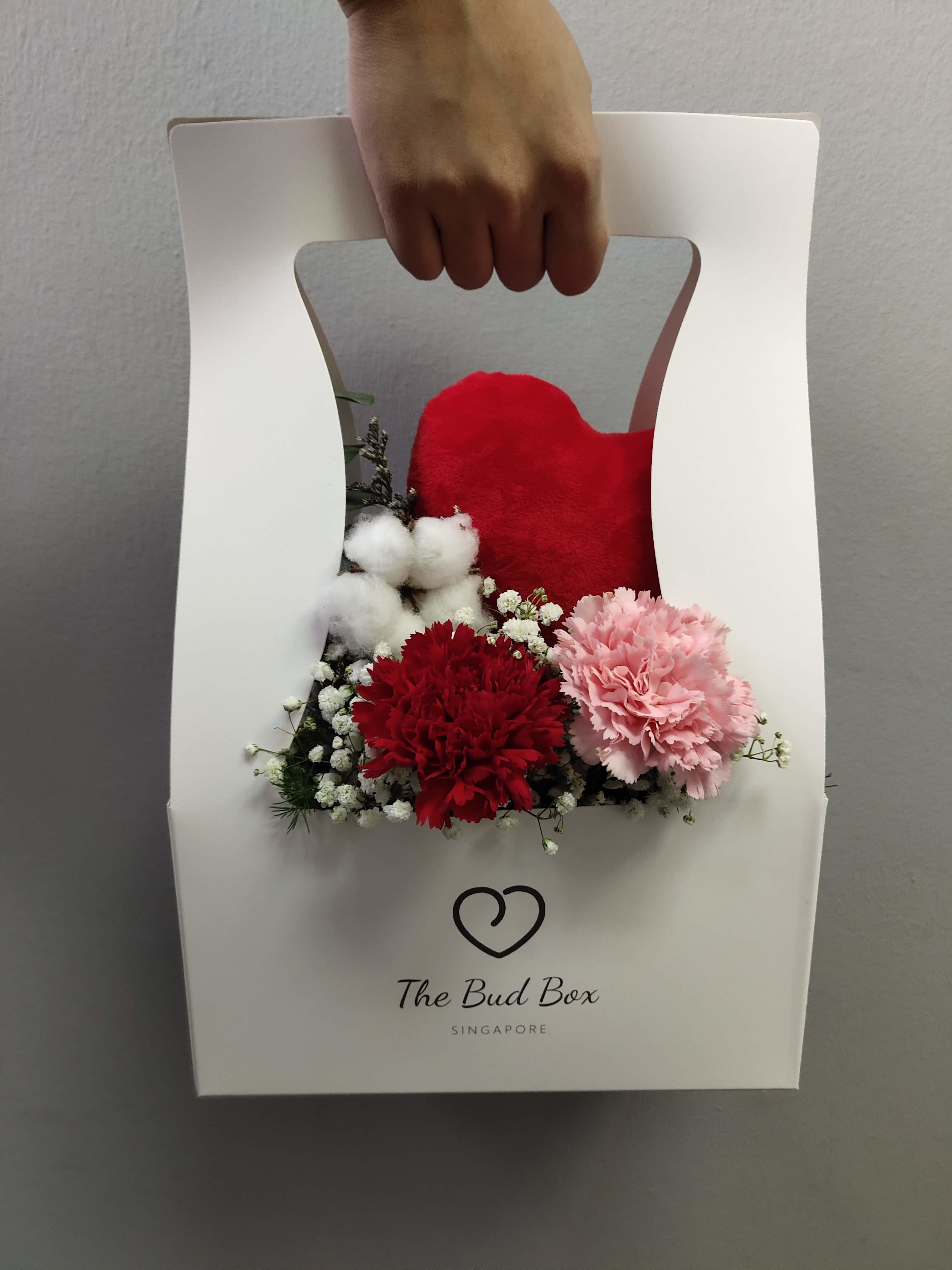 Bud Box for 8 Aug - Flower in a Box Singapore | Free Same Day Delivery $30