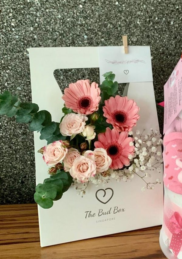 Bud Box for 7 Aug - Flower in a Box Singapore | Free Same Day Delivery $30