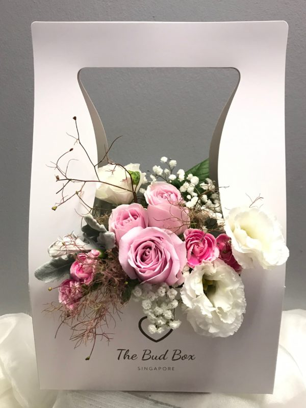Bud Box for 5 Aug - Flower in a Box Singapore | Free Same Day Delivery $30