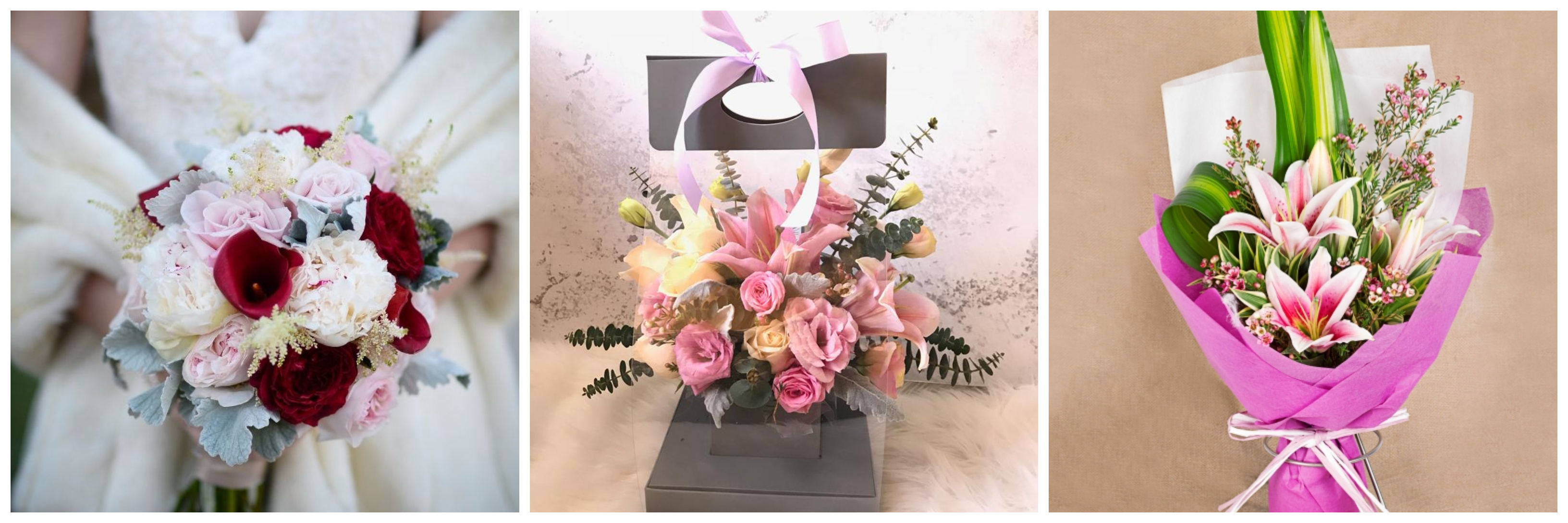 10 Best Lily Bouquets Flower Delivery Singapore The Bud Box