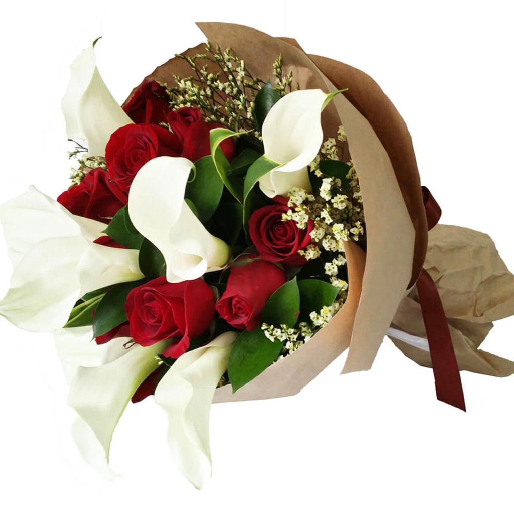 flower advisor lily bouquet