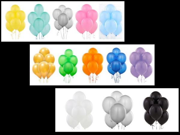 loose latex balloon