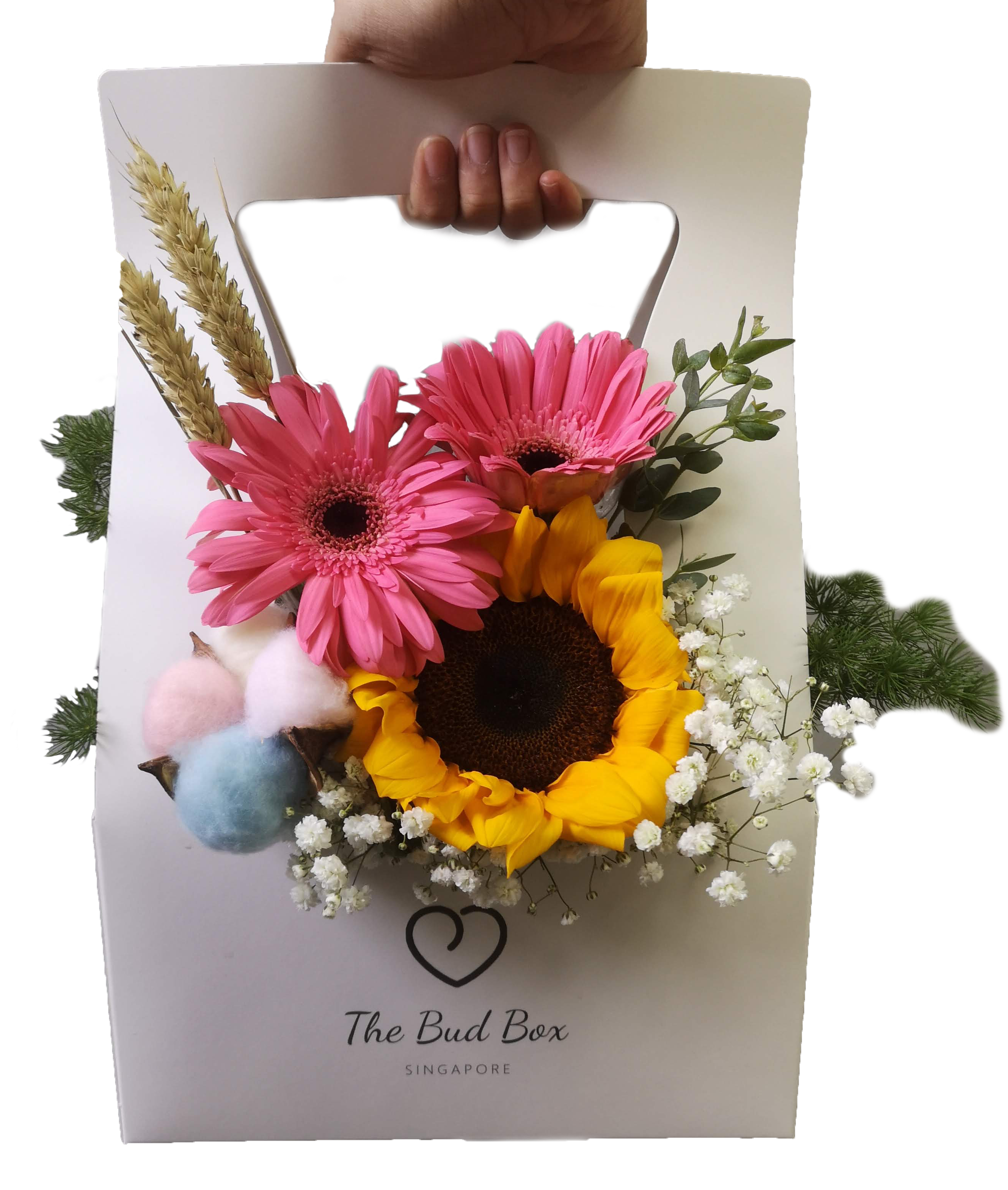 Flower Box At 30 With Free Same Day Delivery In Singapore