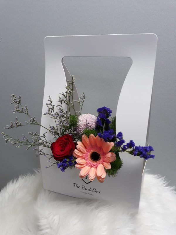 9 oct - flowers in a box