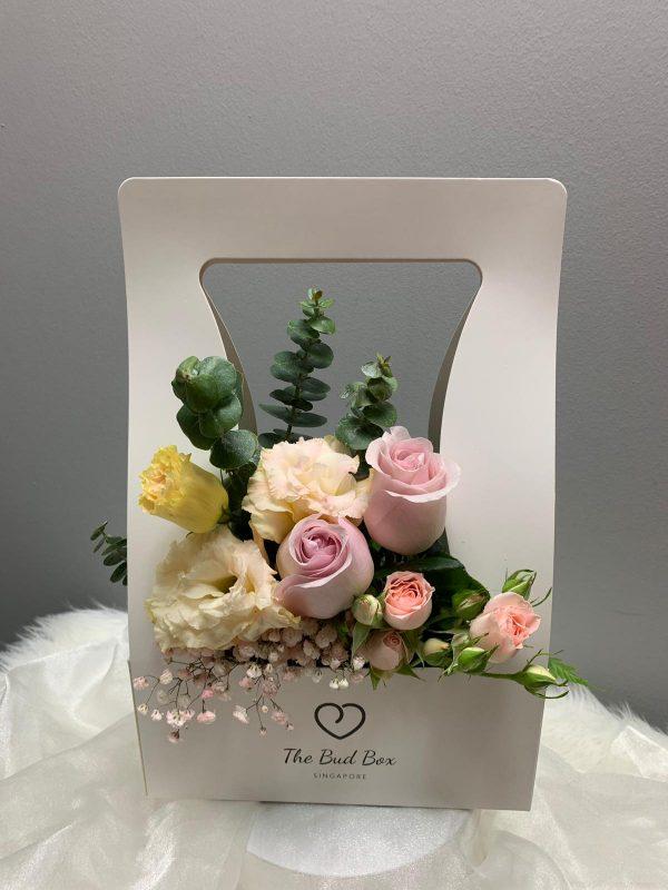 pink rose bud box