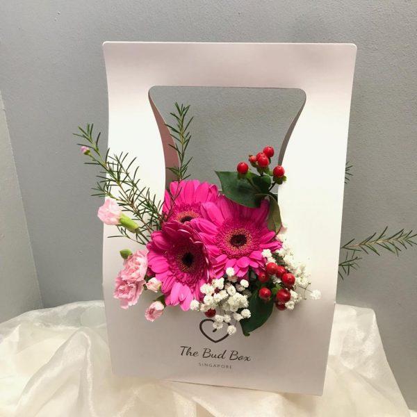 Pink Gerbera Bloombox