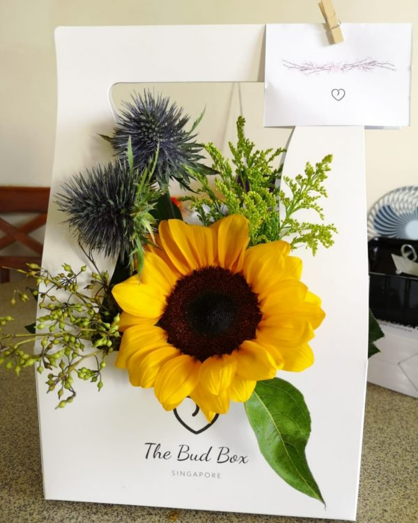 Sunflower Bloombox