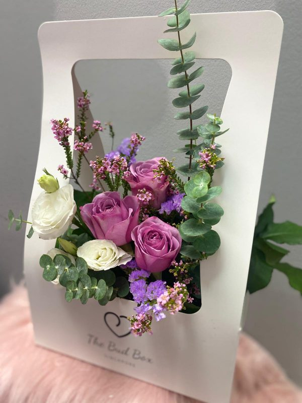 yam rose flower box