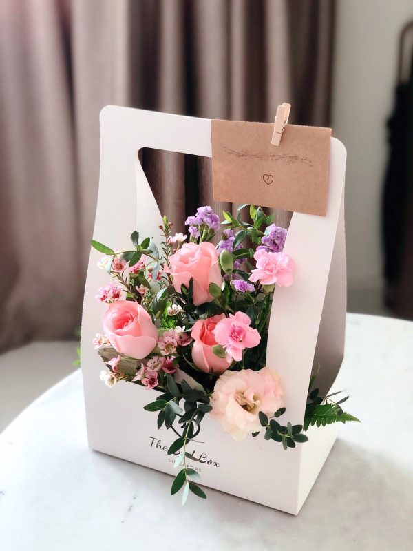 Pink Rose bud Box