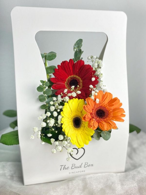 Gerbera & Baby Breaths Bud Box